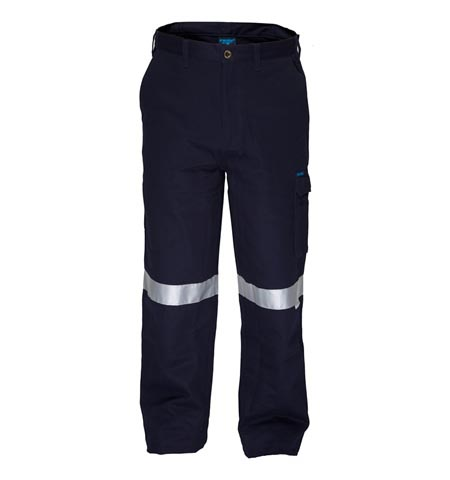 CH701K - Flame Retardant Cotton Drill Cargo Pants with 3M tape