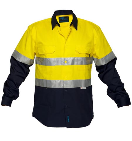 MF101 - Fire Retardant Cotton Drill Shirt