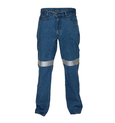 DMJ169K - Denim Jeans with 3M tape