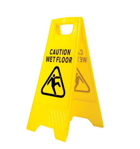 HV20 - Wet Floor Warning Sign