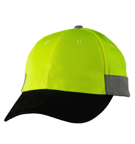 M1017 - Hi Vis Cap with 3M tape