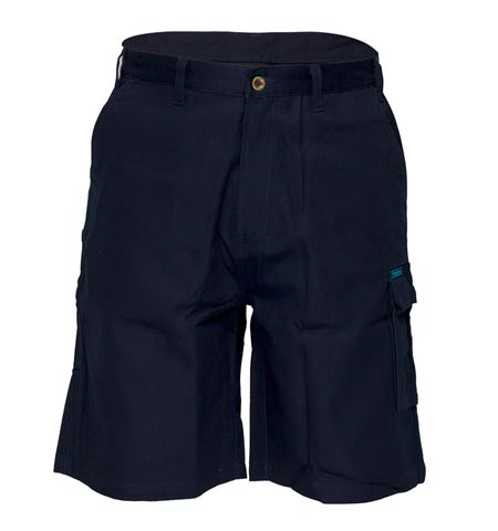 MW702 - Cotton Drill Cargo Shorts